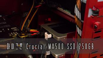 마이크론 Crucial MX500 SSD 250GB