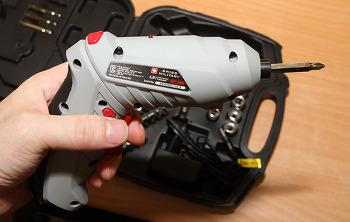 스위스밀리터리 4.8V 전동드릴 SM-480M 사용 후기