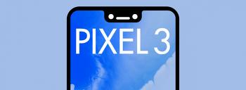구글 픽셀 3 XL 글래스백과 노치(notch) 디스플레이 실사 유출