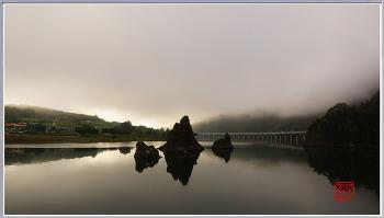단양 도담삼봉 ; 남한강에 솟은 세개의 봉우리