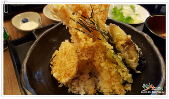 합정동 생활의 달인 텐동전문점, 타치가와텐 튀김덮밥