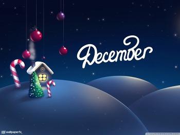 바탕화면 고화질 December The Christmas Month HD Wallpaper 무료 배경 이미지
