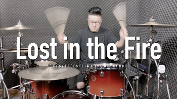 """Gesaffelstein & The Weekend(게사펠슈타인 & 더 위켄드) - """"Lost in the fire""""(로스트 인 더 파이어) Drum Cover by ROP"""