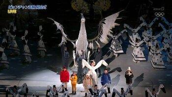 평창 올림픽 개막식, 인면조, 몇 가지 의상