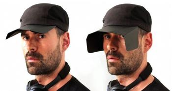 집중도를 높여주는 말 눈가리개 같은 모자 포커스캡(FocusCap)