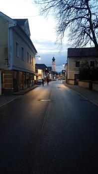 체코의 새벽 / 핸폰사진