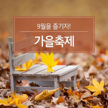 9월을 즐기자! 가을축제