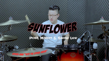 """Post Malon & Swae Lee(포스트말론&스웨리) - Sunflower(썬플라워)""""Spider-Man: Into the Spider-Verse"""" Drum Cover by ROP"""