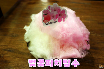 [설빙 빙수 추천] 벚꽃피치빙수 후기