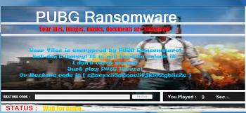 특정 게임을 플레이하면 파일을 복구해주는 'PUBG Ransomware' 등장