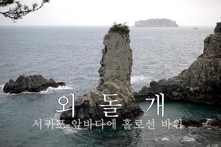 [제주ㅣ외돌개]서귀포 앞바다, 홀로선 바위 외돌개