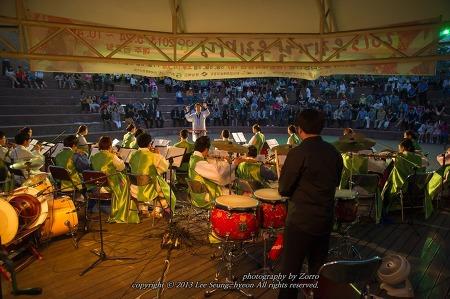 우리가락우리마당 개막, 한여름밤의 문화행사