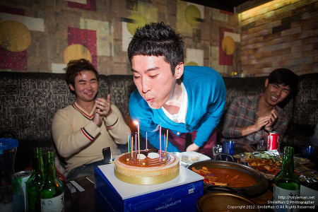 121006 주안 남쌩 생일 :D
