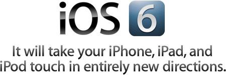 기다리고 기다리던 iOS6 발표 (2012 Apple WWDC)