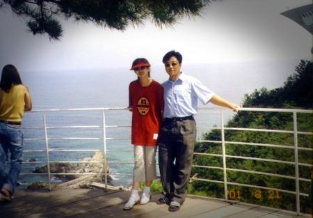 아내와 함께 처음 찍은 사진, 정동진에서