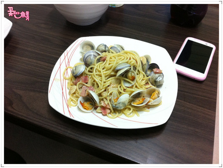 [2012.02.26] 오랫만에 요리했네요.ㅋㅋㅋ 봉골레!!