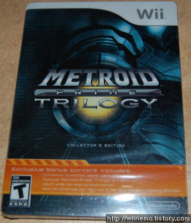 [Wii] 메트로이드 프라임 트릴로지 (Metroid Prime Trilogy)