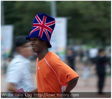 세계육상대회 제대로 즐기는 사람들의 패션