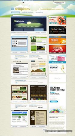 블로그스킨 및 웹사이트, 무료 템플릿 제공 사이트들을 소개합니다~!!