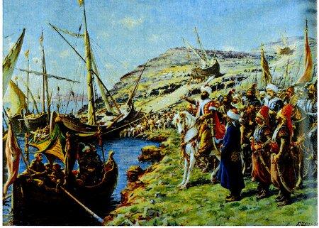 [조선일보]술탄의 배는 산을 넘어, 비잔틴에 멸망을 고했다