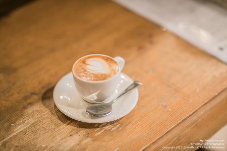 130309 i luv Espresso macchiato : ) @ 모래내커피집