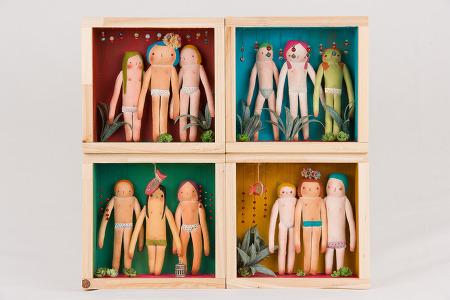 cloth doll set