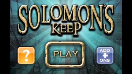 [iphone]Solomon's Keep & solomon's bone..