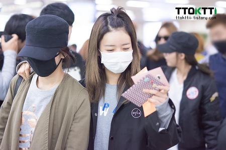 151005 김포공항 입국