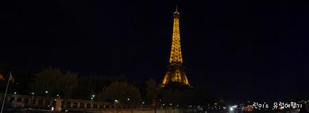 파리 바토무슈타고 에펠탑 야경을 잊지못해요!