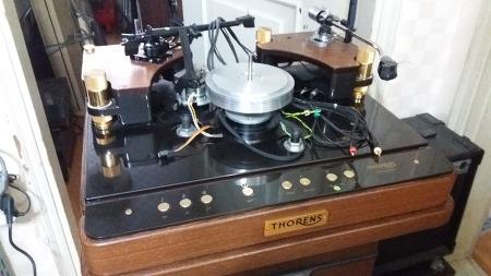 Thorens reference turntable prestige 토랜스 프레스티지 턴테이블(수입오디오수리 부천 한국음향)