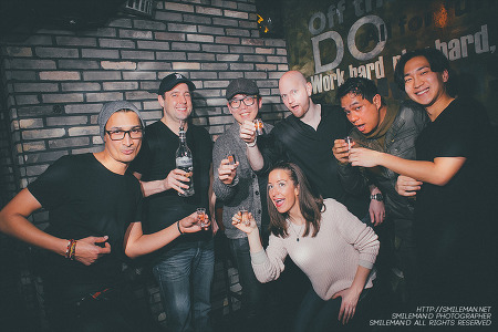 150110 KOnnEX Vol.8! Korean & Expat DJ Night feat. Jay Claytor! @ DOJO Lounge