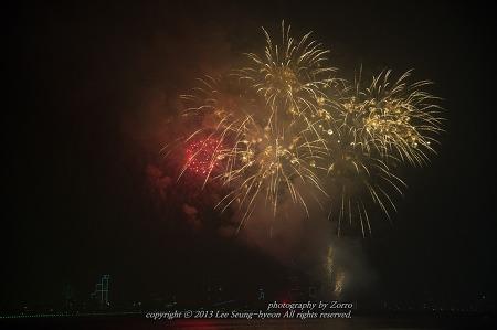 포항불빛축제 불꽃을 담다