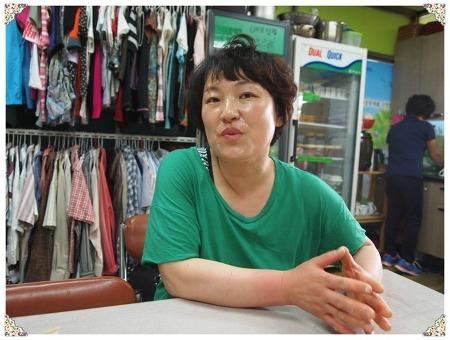 에코상점에서 따뜻한 공동체를 실천하는 김숙연 점장