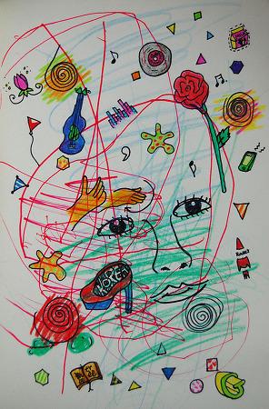 [지후트리작업실][색연필일러스트]우리들의 우주