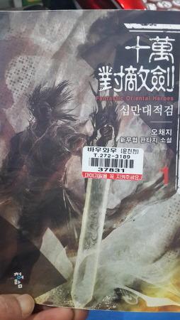 무협소설 - 오채지의 '십만대적검'