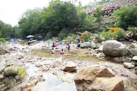 삼막사 계곡