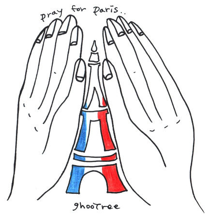 기도(pray for paris)