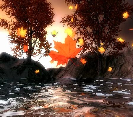 가을 라이브 배경화면