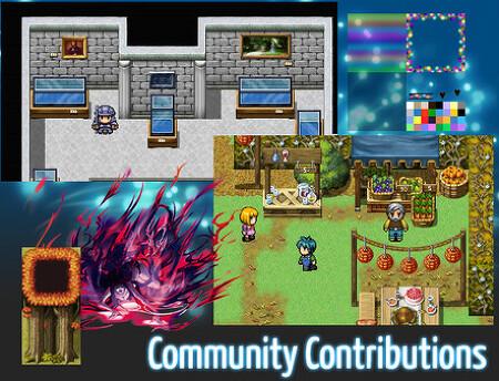 [게임 소식] RPG Maker : Community Resource Pack 무료로 사용할 수 있는 DLC !