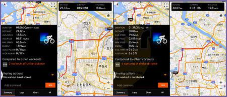서울에서 동인천역까지 하운드 700d 라이딩후기