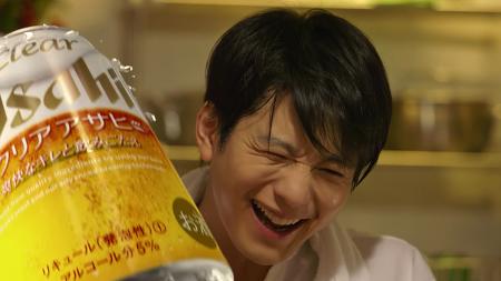 찌개랑 크리아랑 눈의 밤 「鍋とクリアと雪の夜」 아사히 맥주_일본 광고