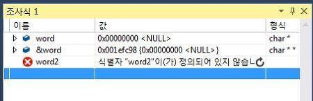 C언어 포인터 - 문자열을 다룰 때 이중 포인터를 쓰는 이유