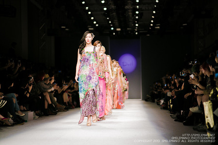 131020 SUN S/S 2014 Seoul Fashion Week (서울 패션 위크) Doii / 이도이 @ IFC MALL