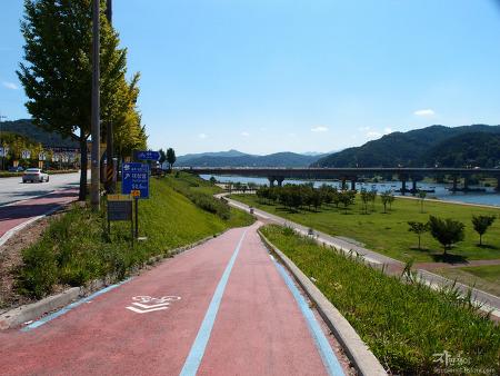 한달간 자전거 국토종주 마지막날 금강 자전거길 공주보~대청댐