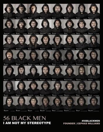 고정관념을 정면으로 비판한 사진시리즈 56명의 흑인들