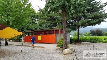 가평 화랑유원지 캠핑장