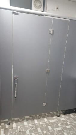 서울 구로구 장애인큐비클 화장실칸막이 접이문