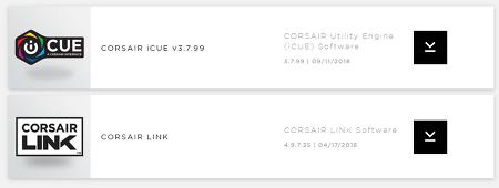 CORSAIR 소프트웨어 다운로드.