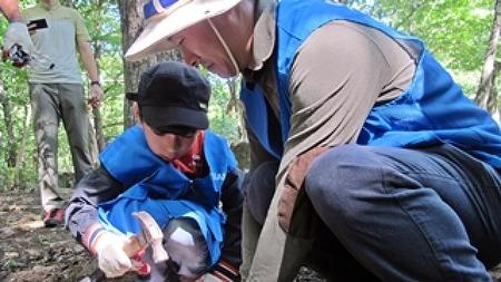 가족봉사단 내장산 자연환경 정화 봉사활동