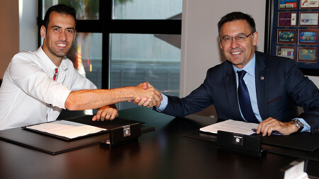 [오피셜] 세르지오 부스케츠 2023년까지 재계약